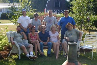 Class of '75 cookout